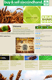 custom website design channel my27 website